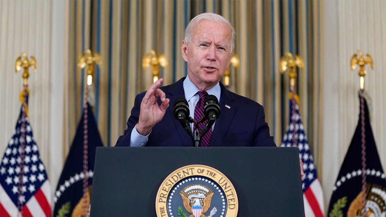 President Biden delivers remarks on his 'bipartisan infrastructure bill and Build Back Better agenda'